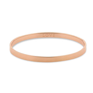 Love Rose Gold 5mm Bangle