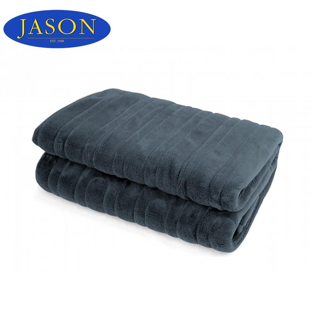 Heated Throw Stormy Grey - Brilliant Co