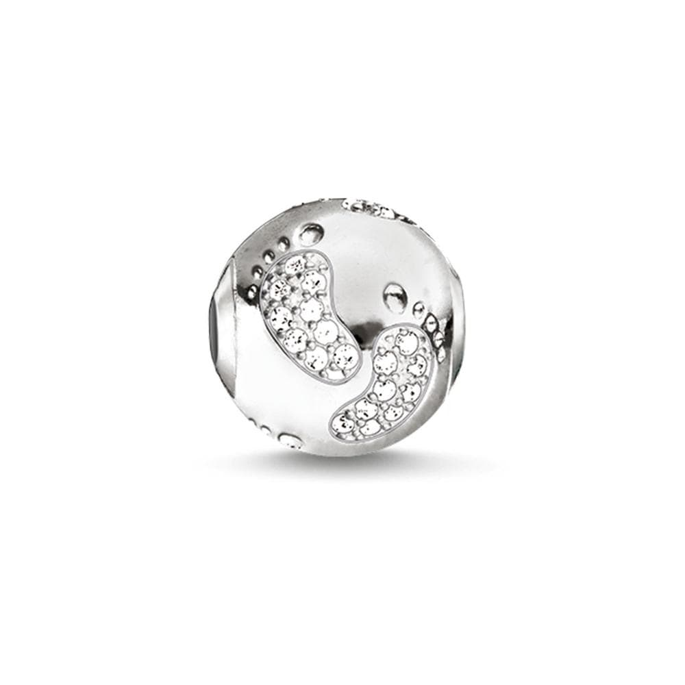 Karma Bead Baby Footprint - Brilliant Co
