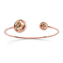 Loisa Bangle Embellished with Swarovski crystals
