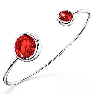 Loisa Bangle Embellished with Swarovski crystals - Brilliant Co