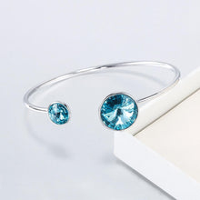 Serene Bangle Ft Crystals From Swarovski