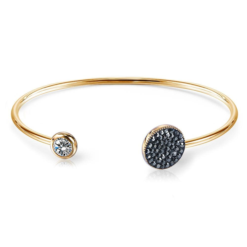 Gistening Star Bangle Embellished with Swarovski crystals - Brilliant Co