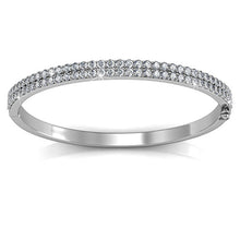Alexa Bangle Embellished with Swarovski crystals - Brilliant Co