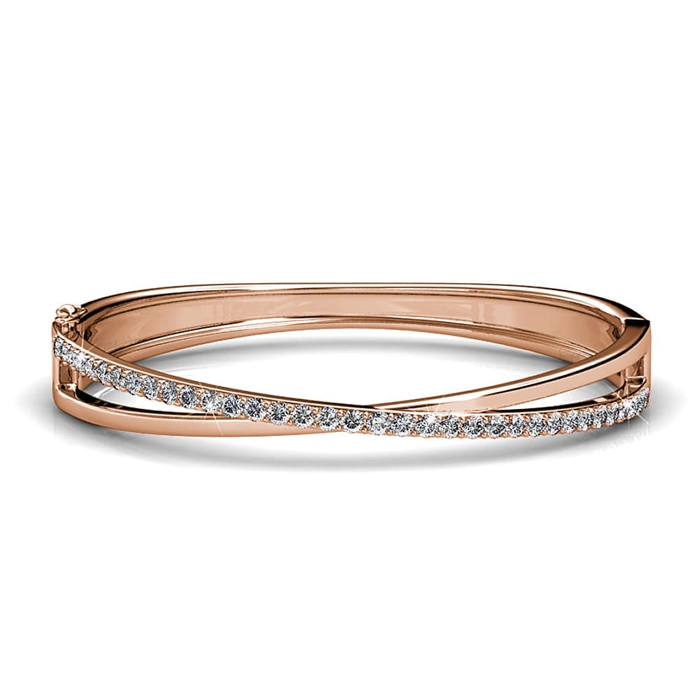 Perfection Bangle Ft. Crystals From Swarovski