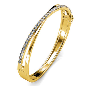 Perfection Bangle Embellished with Swarovski crystals - Brilliant Co