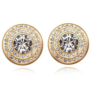 Dolce Earrings Embellished with Swarovski crystals - Brilliant Co