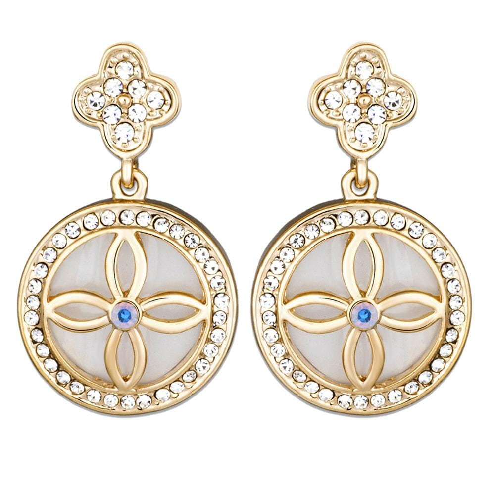 Decandence Earrings Embellished with Swarovski crystals - Brilliant Co