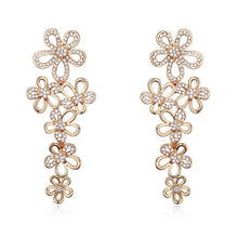 Bloomingdale Earrings Embellished with Swarovski crystals - Brilliant Co