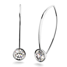 Prescilla Sparks Earrings Embellished with Swarovski crystals