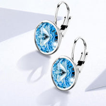 Kassandra Crystal Drop Earrings Embellished with Swarovski crystals