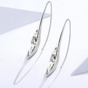 Athenas Beauty Dangle Earrings Ft Crystals From Swarovski