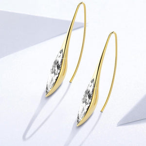 Athenas Beauty Dangle Earrings Featuring Crystals From Swarovski