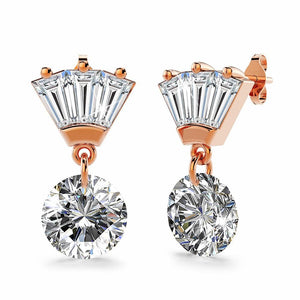 Pretty Princess Drop Earrings - Brilliant Co