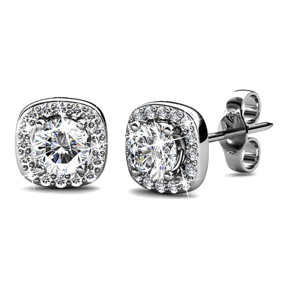 Lux Studs Embellished with Swarovski crystals - Brilliant Co