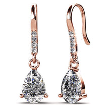 Load image into Gallery viewer, Pretty Pea Earrings Embellished with Swarovski crystals - Brilliant Co