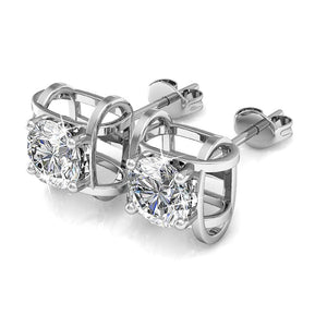 Majestic Beauty Stud Earrings Embellished with Swarovski crystals - Brilliant Co