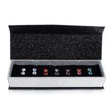 7 Day Earrings Set Embellished with Swarovski crystals - Brilliant Co