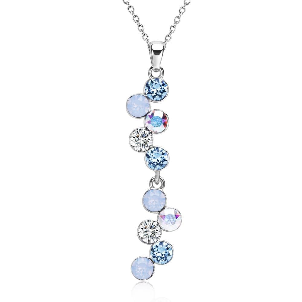 Serenity Necklace Embellished with Swarovski crystals - Brilliant Co