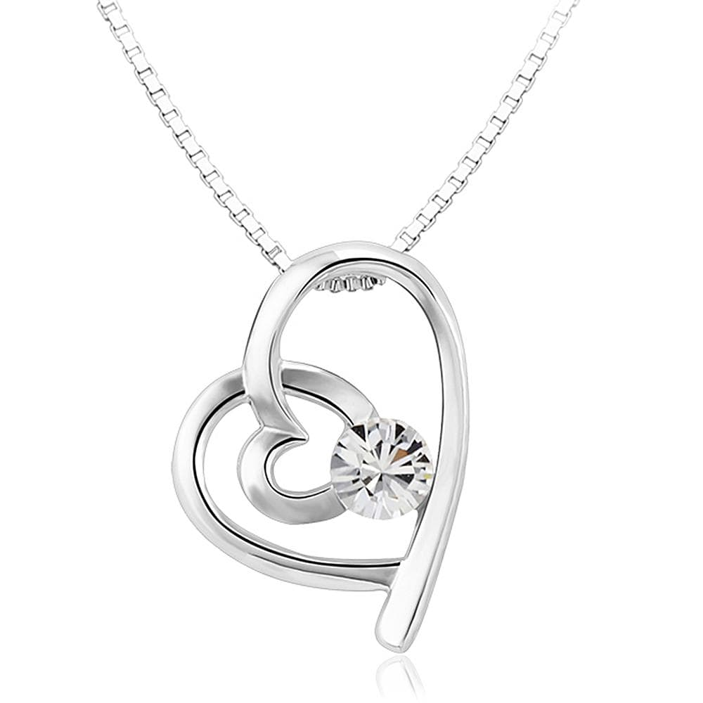 My Love Necklace Embellished with Swarovski crystals - Brilliant Co