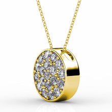 Load image into Gallery viewer, Pave Pendant Necklace Embellished with Swarovski crystals - Brilliant Co