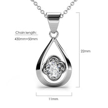 Load image into Gallery viewer, Center Piece Necklace Embellished with Swarovski crystals - Brilliant Co