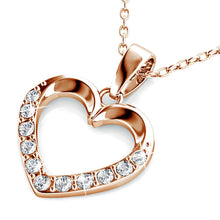 Load image into Gallery viewer, Innocent Heart Short Necklace Embellished with Swarovski® crystals - Brilliant Co