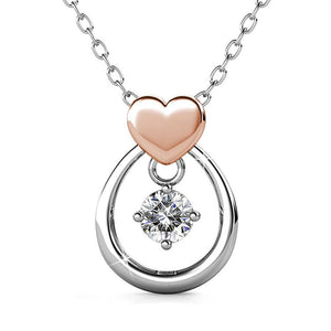 Felina Love Necklace w/Swarovski Crystals