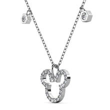 Load image into Gallery viewer, Mickey Silhouette Pendant Necklace Embellished With Swarovski® Crystals - Brilliant Co