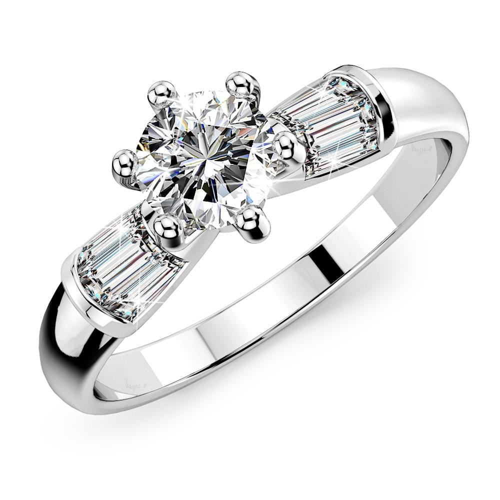 Accented Ring Crystal Embellished with Swarovski crystals - Brilliant Co
