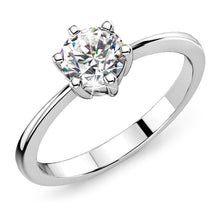 Load image into Gallery viewer, Solitaire Ring Crystal Embellished with Swarovski crystals - Brilliant Co