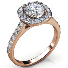 Engagement Ring Embellished with Swarovski crystals - Brilliant Co