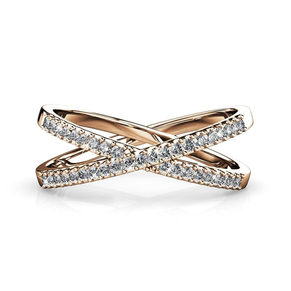 Synergy Ring Embellished with Swarovski crystals - Brilliant Co