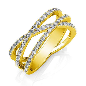 Soulmate Ring Embellished with Swarovski crystals - Brilliant Co