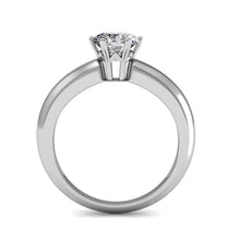 Jewel In The Palace Solitaire Ring Embellished with Swarovski crystals