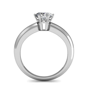 Jewel In The Palace Solitaire Ring Embellished with Swarovski crystals - Brilliant Co