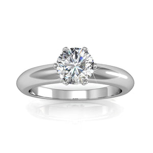 Jewel In The Palace Solitaire Ring Ft. Crystals From Swarovski