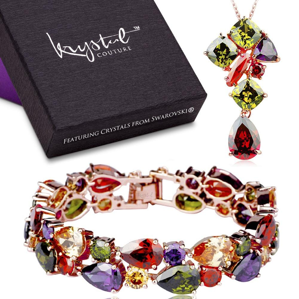 Karissma Elements Bracelet & Necklace Set - Brilliant Co