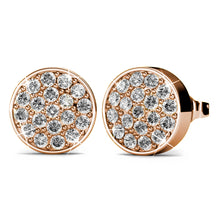 Boxed Set Of 2 Earrings Embellished with Swarovski crystals - Brilliant Co