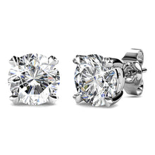 Boxed 2 Pairs Earrings Set Embellished with Swarovski crystals - Brilliant Co