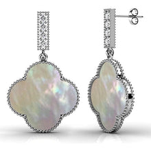 Boxed 2-Pairs Milkyway Drop Earrings Set Embellished with Swarovski crystals - Brilliant Co