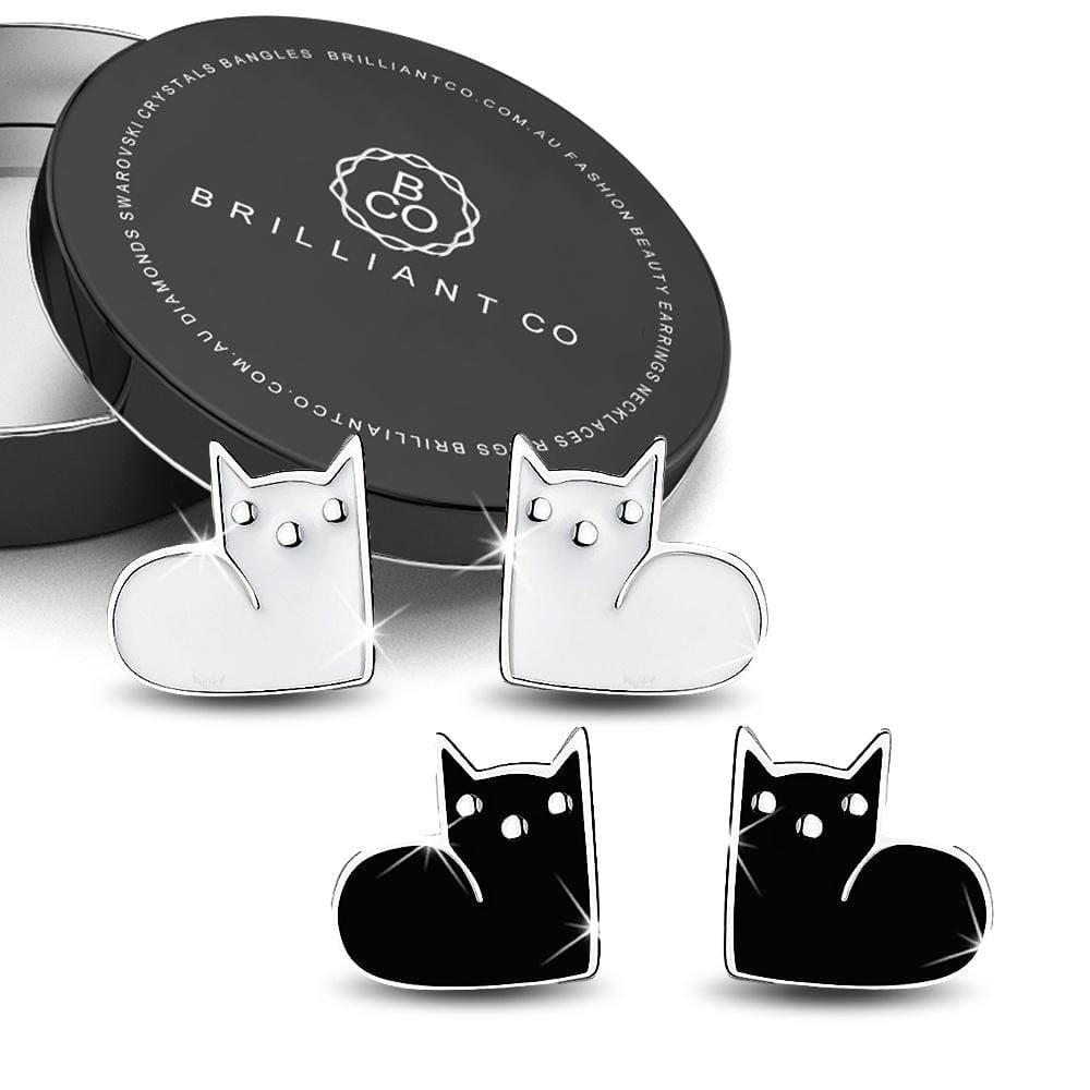 Boxed 2 Pairs of MewMew Earrings Set