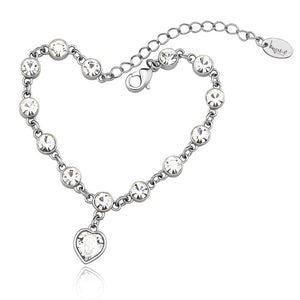Candy Love Bracelet Embellished with Swarovski crystals - Brilliant Co