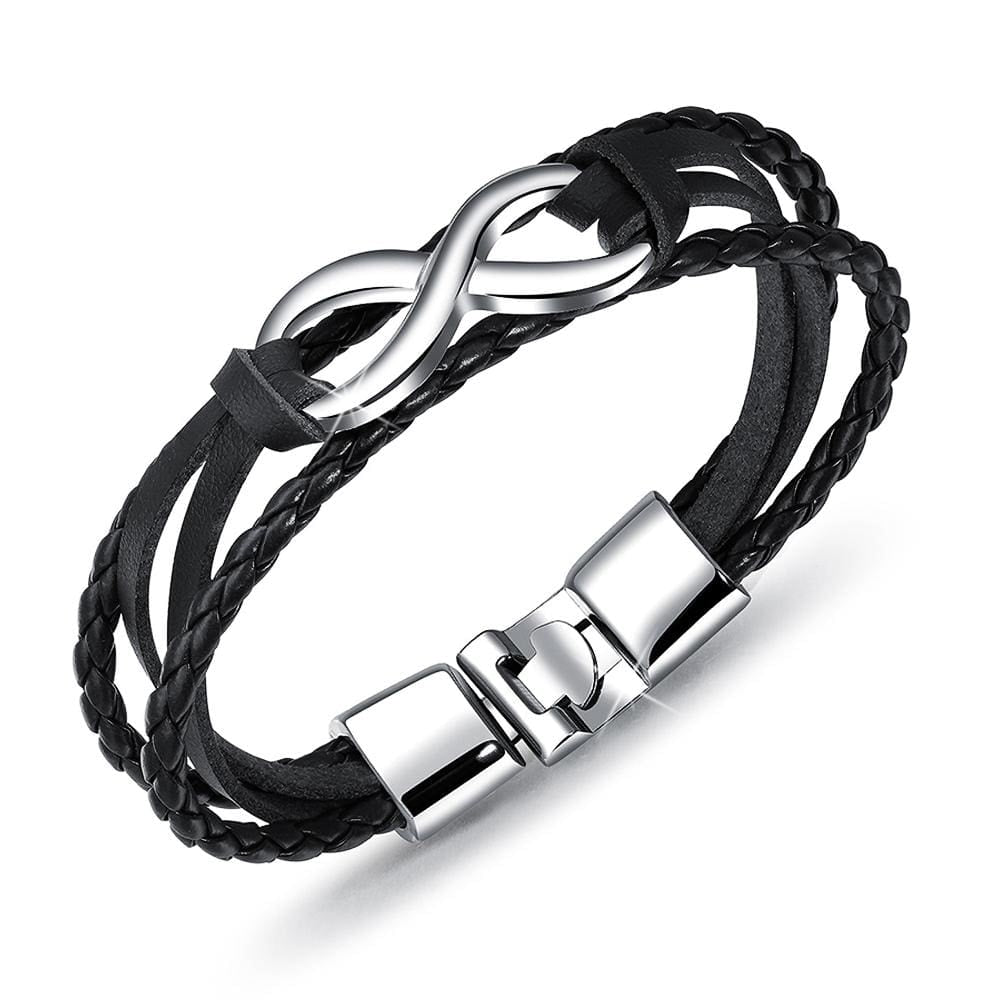 Infinity Leather Wrap - Brilliant Co