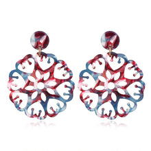 Obsession Kaleidoscopic Drop Earrings Pink - Brilliant Co