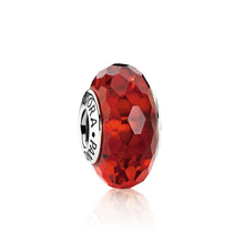Ruby Red Murano Glass Charm