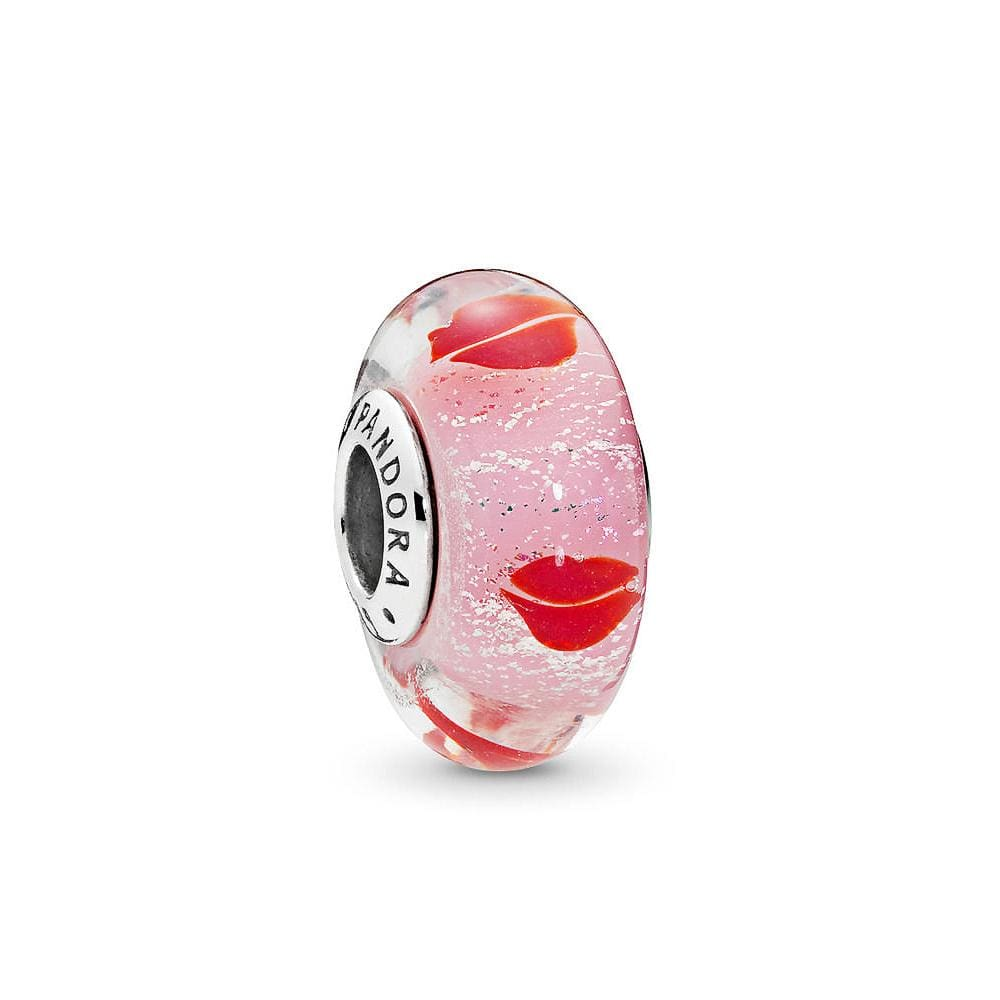 Kisses All Round Murano Glass Charm
