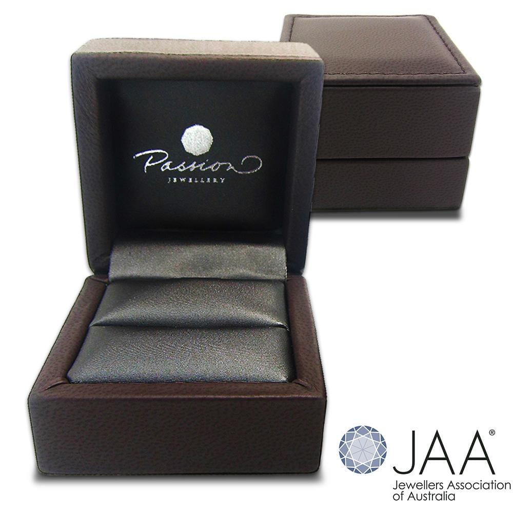 Passion Leatherette Ring Box - Brilliant Co