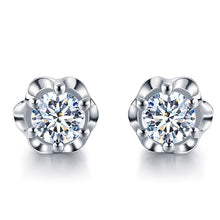 18ct White Gold 0.09ctw Diamond Studs