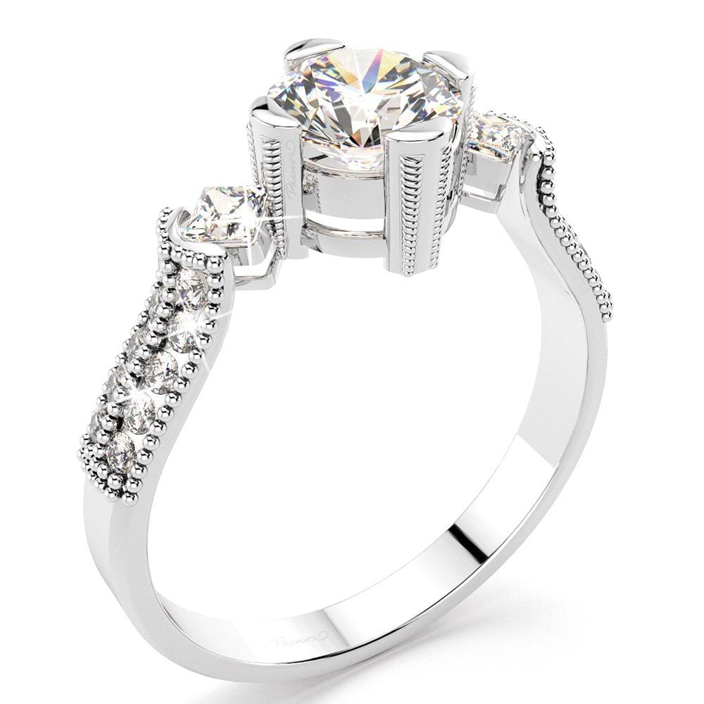 1.71ct. tw. La Peakª Diamond Engagement Ring (JAA/NCJV Certified)